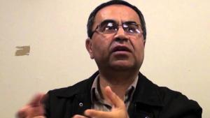 Iran expert and journalist Reza Alijani (source: YouTube)