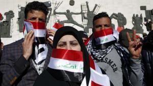 Demonstrators on Tahrir Square in Cairo (photo: AFP/Getty Images)