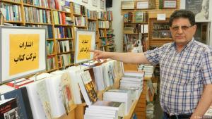 Iranian bookshop owner Bijan Khalili from Los Angeles (photo: DW/Gero Schliess)