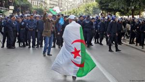 Protest in Algiers on 12 December 2019 (photo: AFP/Getty Images)
