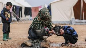 Barely access to clean water: people in Idlib are not in a position to protect themselves against coronavirus (photo: picture-alliance/dpa/A. Alkharboutli)