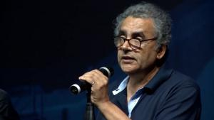 Algerian-French poet Habib Tengour (source: YouTube)