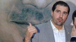 Syrian business tycoon Rami Makhlouf, cousin of President Bashar al-Assad (photo: picture-alliance/abaca/Balkis Press)