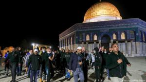Jeruslaem's Al-Aqsa mosque re-opens on 31 May 2020 (photo: Getty Images/AFP/A. Gharabli)