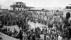 Saudi Arabia: The city of Jeddah in 1903 (Photo: imago images/United Archives International)