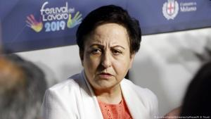 Nobel Peace Prize laureate Shirin Ebadi, one of the speakers at Festival Lavaro in Italy in 2019 (photo: Zumapress/picture-alliance)