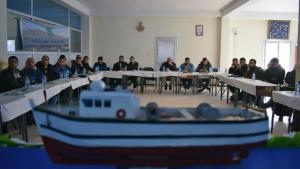 Algerian environmental association HOME conducts training sessions for 60 fishermen, selected from five ports, on sustainable fishing (photo: Samia Balistrou)