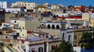 View of the Tangier casbah (photo : Claudia Mende)