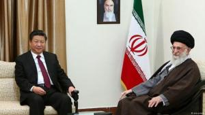Iran-China partnership: Xi Jinping meets Ali Khamenei (photo: ana.press)