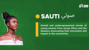 "Launching ""Sauti"", Africa's first ever feminist blog (source: Office Of The African Union Special Envoy On Youth)"