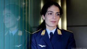 Lieutenant Nariman Hammouti-Reinke (photo: picture-alliance/dpa/S. Prautsch)
