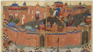 The siege of Baghdad, 1258 (source: Sayf al-vâhidî et al.  Public domain)