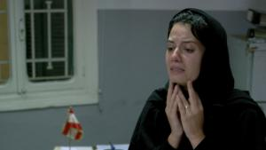 "Still of main character Hoda taken from Farah Shaer's short film ""Shakwa"" (photo: Farah Shaer)"