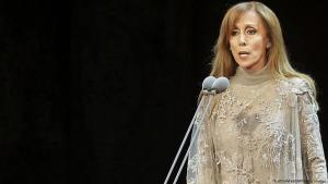 Lebanese singer Fairuz (photo: Jospeh Eid /AFP/Getty Images)