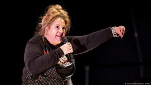 German comedian Idil Baydar (photo: picture-alliance/dpa/C. Soeder)