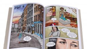 """Excerpt from """"The Prophet: A Graphic Novel"""", adapted and illustrated by Pete Katz (published by Canterbury Classics)"""