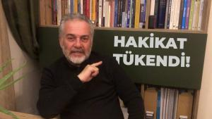 "Professor Mustafa Ozturk and Turkish phrase ""The truth is exhausted"" (screenshot: YouTube)"