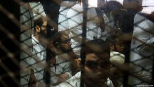 Symbolic image: an Egyptian prison (photo: picture-alliance/AA)