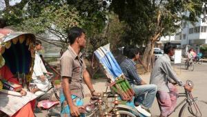 Rickshaws in Dhaka, Bangladesh (photo: Dominik Muller)