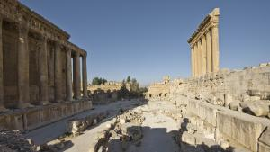 Temple of Bacchus and the Temple of Jupiter (photo: I. Wagner/German Archaeological Institute, Orient department)