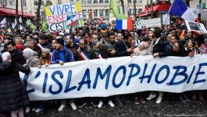 A 2019 demonstration against Islamophobia in France (photo: Imago Images/Panoramic/F. Pastellini)