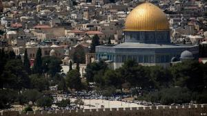 Temple Mount in Jerusalem (photo: Getty Images/AP)