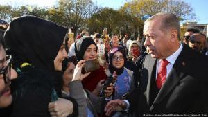 Turkey's President Erdogan visiting Greece, 2017 (photo: picture-alliance/dpa/AP/Presidency Press Service/K.Ozer)