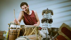 Israeli percussionist Ben Aylon (photo: Ben Aylon)