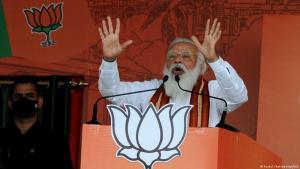Indian Prime Minister Narendra Modi (photo: Kuntal Chakrabarty/IANS)
