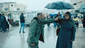 "Salim Dau (left) and Hiam Abbass in a still from the film ""Gaza mon amour"" (photo: Alamode Film)"