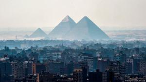 The Giza pyramids on the outskirts of Cairo (photo: Getty Images/K. Desouki)