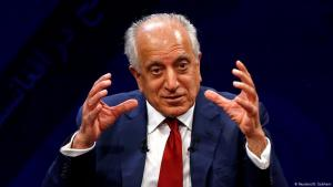 U.S. envoy for peace in Afghanistan Zalmay Khalilzad speaks during a debate at Tolo TV channel in Kabul, Afghanistan 28 April 2019 (photo: REUTERS/Omar Sobhani)