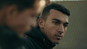 "Still from the film ""Captains of Zaatari"" (photo: Inga Gerke)"