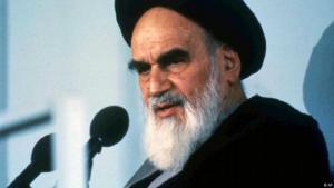 "Iran's ""Supreme Revolutionary Leader"" Ayatollah Khomeini (photo: AP)"