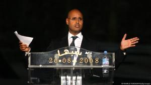 Saif al-Islam, son of Muammar Gaddafi, seen here in 2008 (photo: AFP/Getty Images)