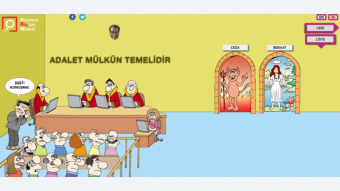 Image from the Museum of Crimes of Thought website (source: www.dusuncesuclarimuzesi.net)