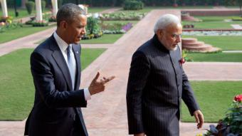 Barack Obama and Narendra Modi, 25 January 2015 (photo: picture-alliance/AP Images)