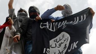 Supporters of Islamic State (photo: AP)
