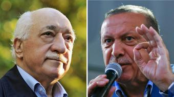 Fethullah Gulen (left), Recep Tayyip Erdogan (right) (photo: picture-alliance/Zaman/Reuters/M. Sezer)