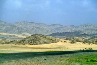The road to at-Taif (photo: Richard Ambler)