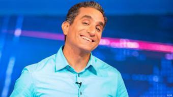 Egyptian satirist Bassem Youssef (photo: DW)