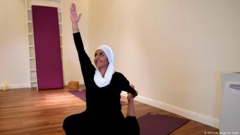 A Muslim yoga boom: although seen as being at odds with several other faiths, the recognition of yoga in Saudi Arabia – the epicentre of the Islamic world – appears to have given a new impetus to Muslim yoga practitioners around the world