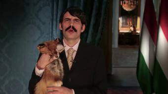 Bodocs Tibor parodies President of Hungary Janos Ader's New Year Speech (source: Youtube)