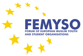 Forum of European Muslim Youth and Student Organisations logo (source: FEMYSO.org)