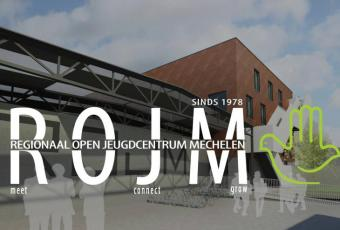 Mechelen's Rojm youth club logo (source: rojm.be)