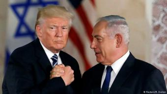 Donald Trump and Benjamin Netanyahu (photo: Reuters/R. Zvulun)