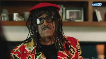Egyptian TV series Azmi we Ashgal released during Ramadan featured a number of actors performing in blackface (source: Youtube/Al Nahar TV)
