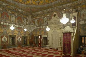 Prayer hall of the Pasha Cammii, in Tetovo, Macedonia (photo: Ahmed Krausen)