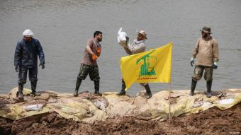 Lebanon's Hezbollah help out with flood protection measures in Iran (photo: MEHR)