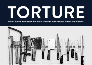 "Cover of ""Torture: Indian State's Instrument of Control in Indian Administered Jammu and Kashmir"" (source: jkccs.net)"